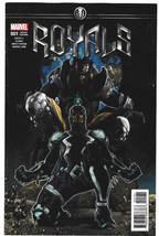 Royals #1 VF+ 2017 Marvel Comics 1:25 Simone Bi... - $9.40
