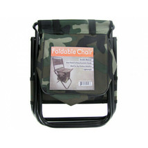 Camouflage Foldable Camping Chair with Zipper Gear Pouch - Set of 4 - $79.00