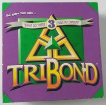 TriBond Board Game 1992 Big Fun Games Complete - $14.01