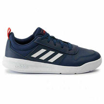 Adidas Kids Navy/White/Red Tensaur K Youth Court Tennis Shoes Sz 12K New w Tags image 4