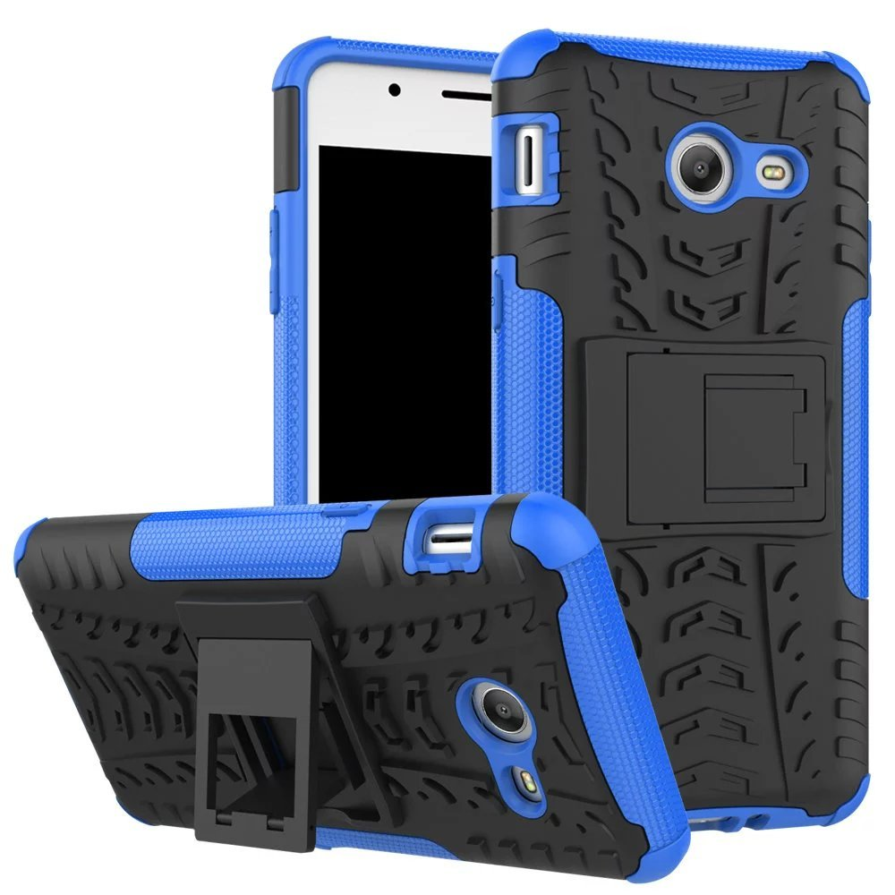 Armor Defender Kickstand Protective Case for Samsung Galaxy J5 (2017) - Blue