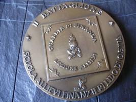 MEDAGLIONE BRONZO ALLIEVI FINANZA 60° ANNIVERSARIO 1999 - $19.91