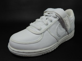 Nike Vandal Low (PS) 314676 111 Pre-Schoolers'Shoes Leather White Size 11c - $34.99