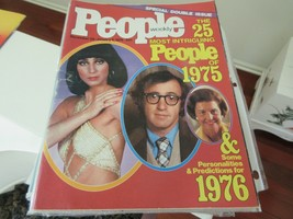 People Magazine , 12/29-1/5/76 , The 25 Most Intriguing People of 1975 ,... - $24.75