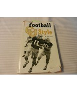 Football, CU - Style by Fred Casotti (1972, Hardcover) Autographed - $19.80