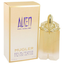 Alien Eau Sublime Perfume by Thierry Mugler 2 oz Eau De Toilette 100% Au... - $52.36