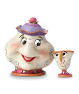 Non Metal Disney Traditions Mrs. Potts And Chip Figurine (Length=4.75) (... - $48.71
