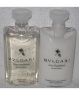 Bulgari Au The Blanc White Tea Shampoo and Conditioner Set  - $15.95