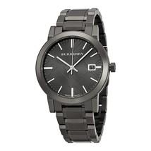 Burberry BU9007 - The City - Dark Gray Ion Plated Swiss Watch 38mm - Warranty - $339.00