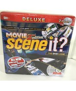Scene It? Deluxe Movie 2nd Edition DVD Game NEW NIB Tin