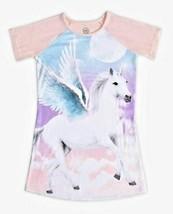 Wonder Nation Unicorn Pink Nightgown Gown Sleepwear Size S Small 6 6X - $9.49