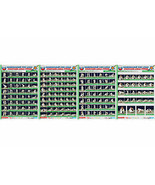 Posters JUDO. Green belt 1+1+1+1 poster.The technique of judo. - $23.17