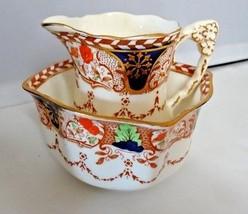 Royal Stafford English Bone China Cream and Sugar Open Bowl Set - $75.00
