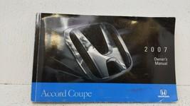 2007 Honda Accord Owners Manual 72318 - $31.50