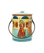 FREE SHIP: Vintage Asian India Themed Tea Caddy - House of Confectionery... - $38.57