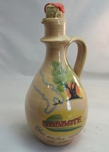 Vtg Labbate Extra Virgin Olive Oil pottery bottle.Coli. Italy. EMPTY - $19.99