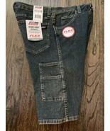 "Men Dickies Denim Work Jean Shorts Waist 34"" w/ 13"" Inseam tool pocket r... - $15.95"