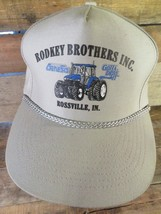 RODKEY BROTHERS INC Rossville IN Tractors Farm Vintage Adjustable Adult ... - $17.81