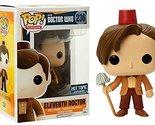 Funko POP TV: Doctor Who Eleventh Doctor Fez Hat & Mop Exclusive Figure
