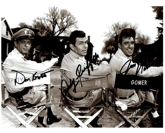Primary image for THE ANDY GRIFFITH SHOW CAST Authentic Autographed Signed 8x10 Photo w/COA  -1002