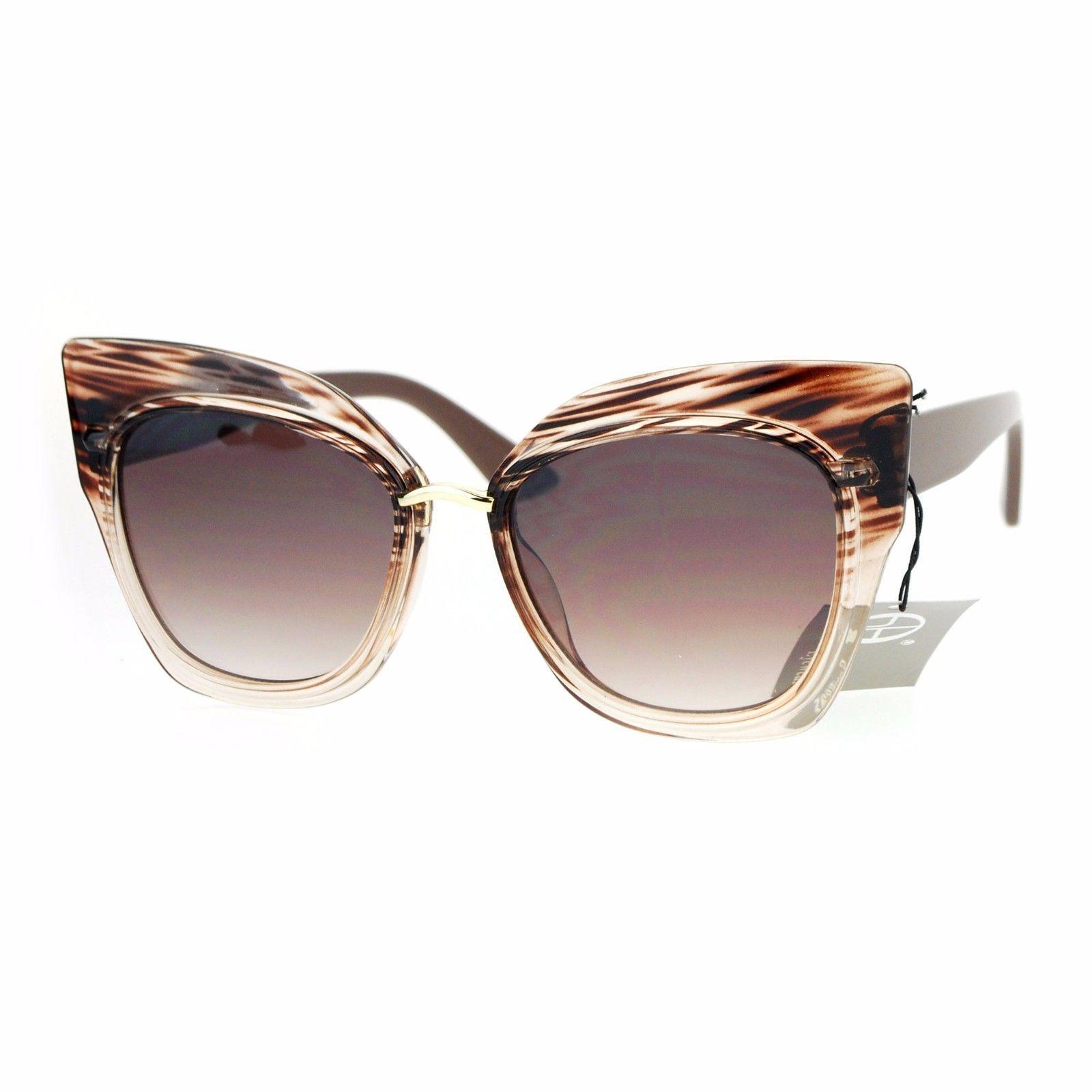 Oversized Fashion Sunglasses Womens Square Cateye Butterfly UV 400 image 13