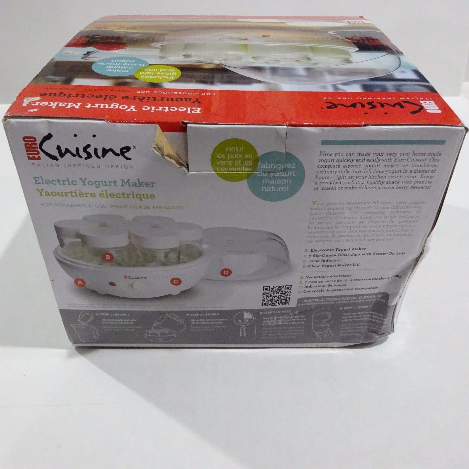 Euro Cuisine Ym80 Yogurt Maker Automatic And 50 Similar Items