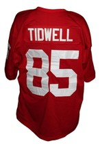Rod Tidwell #85 Gerry Maquire Movie New Men Football Jersey Red Any Size image 4