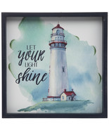 Let Your Light Shine Wood Wall Decoration Nautical Home Decor - $34.97