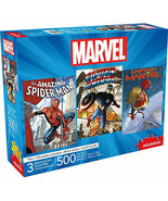 Marvel Heroes 3-Pack of 500 Piece Puzzle Set Multi-Color - $40.98
