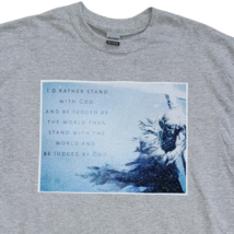 Stand With God Gray T-Shirt | Christian Apparel | Christian Shirt | Ships Free  image 2