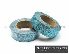 KEVIN&SASA CRAFTS® Glitter Washi Tape Japanese Stationery 1.5*5meter - £3.38 GBP