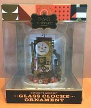 F..A.O. Schwarz  Christmas Ornament - Glass Cloche Ornament - $16.00