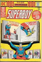 DC Comics 100 Page Super Spectacular Comic Book #21 Superboy 1973 VERY FINE - $40.53