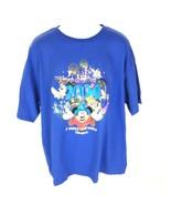 NWT Disneyland 2004 Celebration Whole New World Mens T-shirt Blue Size XL - $19.79