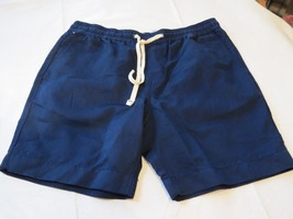 "Tommy Hilfiger Mens Shorts Casual 78C5926 409 navy blue L large 7"" Inseam - $40.83"