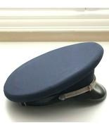 Vintage USA Military Officer Visor Hat Cap Air Force Navy Blue - $89.00