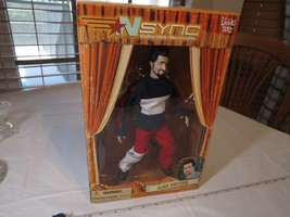 N Sync Collectible Marionette Figure Joey Fatone living toyz doll 2000 R... - $28.50