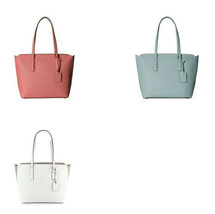 Kate Spade Margaux tote Leather shoulder Bag Peachy Hazy colorblock laptop - $95.00