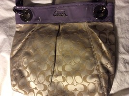 Coach  Ashley Pastel signature Purse J1168-F17599  - $79.99