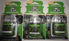 4 new yankee candle ultimate car jar air freshener mistletoe - $13.00