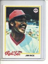 (B-1) 1978 Topps #670: Jim Rice - $2.00