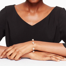 Kate Spade Lady Marmalade Chain Link Bracelet, Gold image 4
