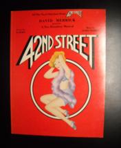 42nd Street Songbook Vocal Selections 1980 Warner Copyright Al Dubin Har... - $8.99