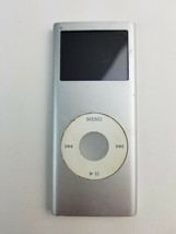 Apple iPod nano 2nd Generation Silver (2GB) 287 Rap Songs Buttons Don't Work - $22.43