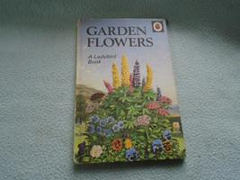 Vintage 1960  Lady Bird Book Garden Flowers Series 536 - $7.72