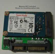 1.8 in mSATA Mini PCIE SSD to SATA Adapter Converter Free SATA Cables US Seller image 3