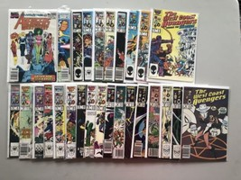 Lot of 27 Avengers West Coast (1985) from #1-41 Annual #4 7 FN-VF Very Fine - $69.30