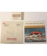 1964 New York World's Fair Travelers Insurance The Triumph of Man souven... - $9.50