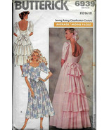 Vintage Butterick 6939 Wedding Dress, Prom Dress, Special Occasion, Aver... - $19.00