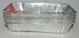Weber 6415 Rectangular Foil Drip Pans Silver Color Set of 10 image 2